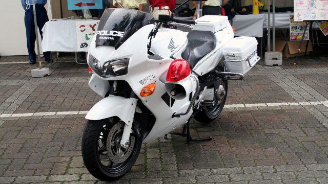 Japanese_HONDA_VFR800P_police_motorcycle