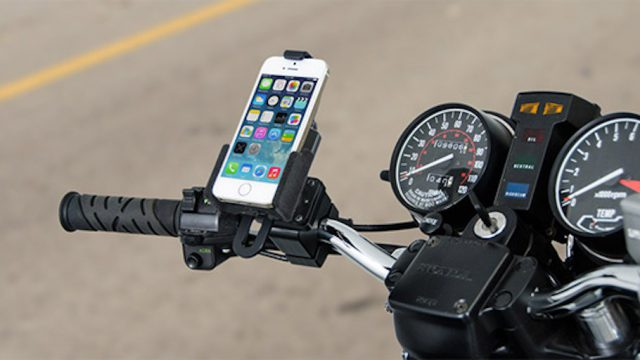 Five motorcycle phone mounts you should know about 1