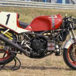 Marco Lucchinelli's 1988 Ducati 851 superbike racer test: start of it all 7