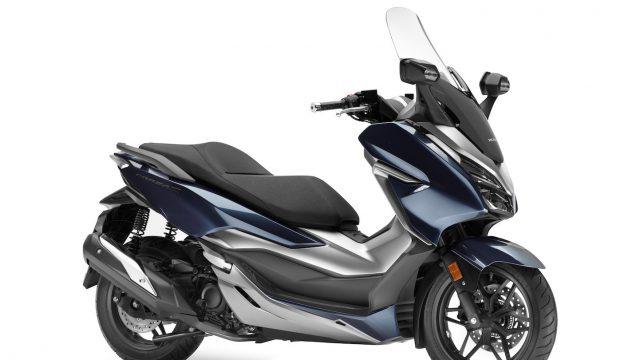 Here's the new Honda Forza 300 3