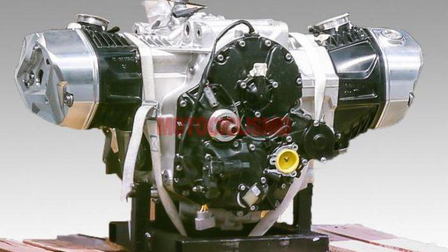 BMW R1250GS Boxer Engine