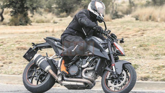 Brand new KTM Super Duke R spy-shot 1