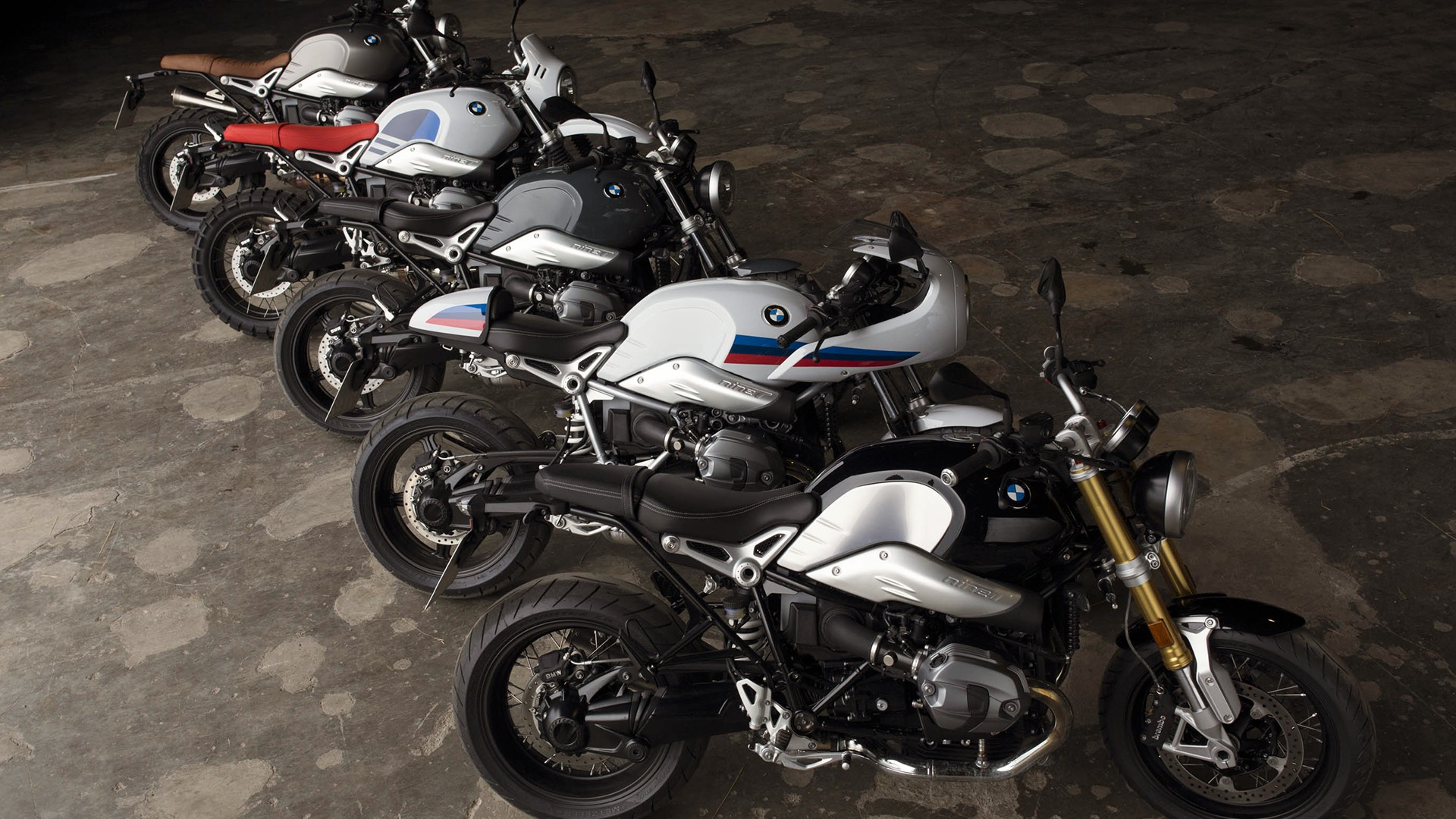 BMW RnineT lineup