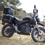 What about an electric adventure motorcycle? Zero Black Forest 2