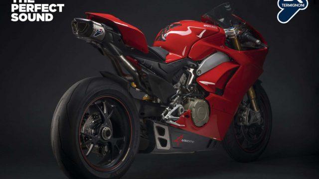 Ducati Panigale V4 Termignoni exhaust 02