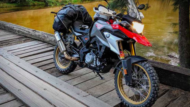 BMW G310GS gets an Adventure Kit. Breaking Bad 1