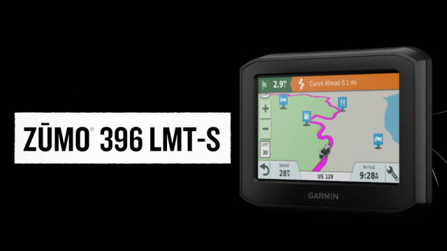 New Garmin zūmo 396 LMT-S Motorcycle GPS Surfaces 1