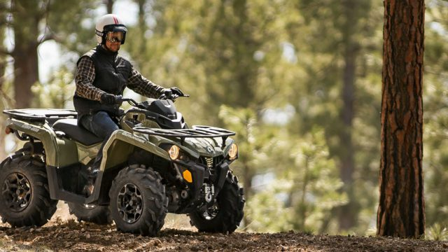 """Stop riding"" recall for 2017 Can-Am Outlander and Outlander Max 1"