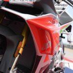Aprilia RSV4 RF LE - MotoGP inspired winglets claimed the first victim 5