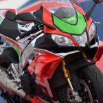 Aprilia RSV4 RF LE - MotoGP inspired winglets claimed the first victim 7