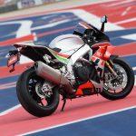 Aprilia RSV4 RF LE - MotoGP inspired winglets claimed the first victim 4
