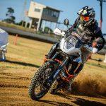 Motoz reveal big adventure bike Tractionator Desert tires 3