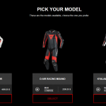 Customize your on Dainese race leathers down to details 3