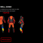 Customize your on Dainese race leathers down to details 5