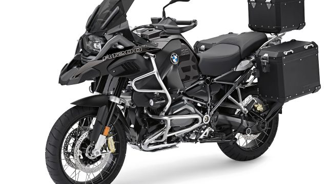 "BMW R1200GS gets ""Edition Black"" accessories 1"