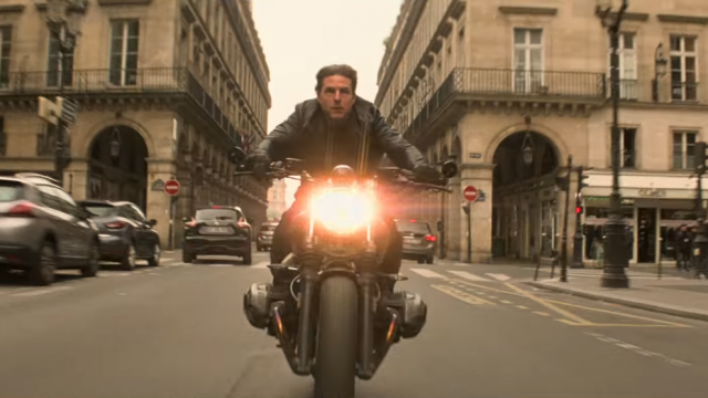 Tom Cruise crashes BMW R nineT in new Mission Impossible movie 1