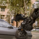 Tom Cruise crashes BMW R nineT in new Mission Impossible movie 4
