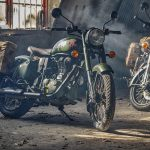 Royal Enfield Classic 500 Pegasus honors the WWII motorcycles 2