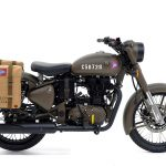 Royal Enfield Classic 500 Pegasus honors the WWII motorcycles 5