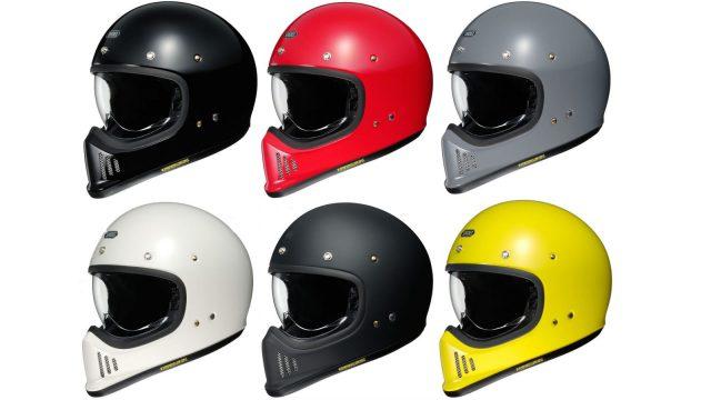 Shoei Ex-Zero retro helmet arrives 1