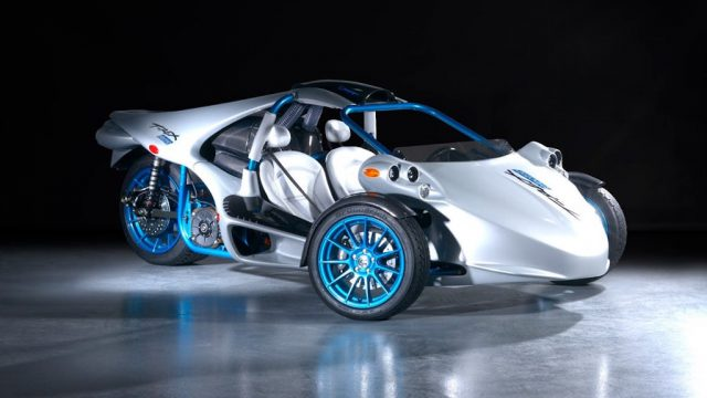 Electric Campagna T-Rex reverse trike in the works 5