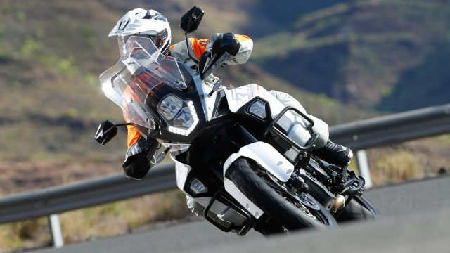 KTM prepares blind spot detection and adaptive cruise control 1