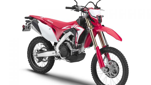 2019 Honda CRF450L on-off bike makes appearance 1
