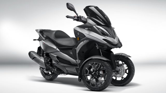 Quadro QV3 leaning scooter looks like a better alternative to Yamaha' Niken 1