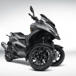 Quadro QV3 leaning scooter looks like a better alternative to Yamaha' Niken 5