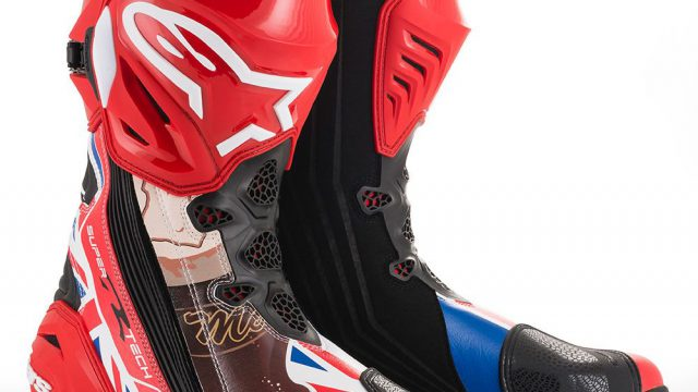 Alpinestars McGuinness Supertech R boots now available 12