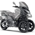 Quadro QV3 leaning scooter looks like a better alternative to Yamaha' Niken 2