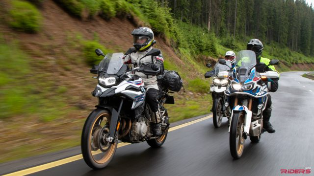 F850GS vs. Africa Twin vs. Tiger 800 | 2018 MY Review 1