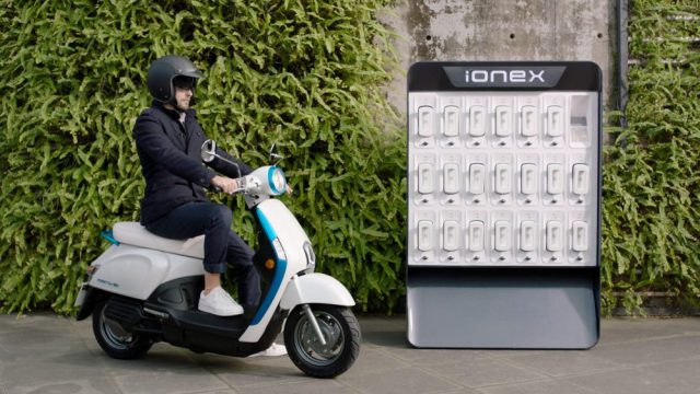 kymco 2018 ionex electric scooter 4