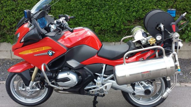 Meet the R1200RT Firexpress - the Ultimate Firefighting Motorcycle 1