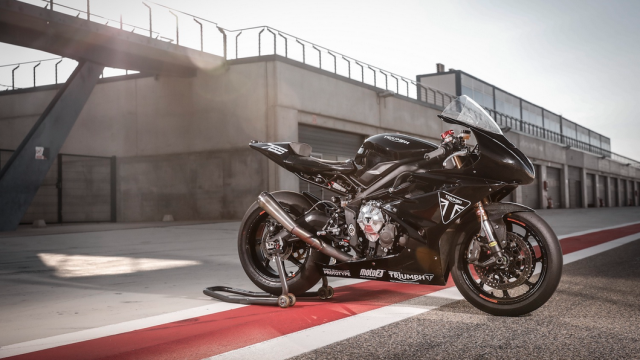 See the Triumph Moto2 bike at the Goodwood Festival of Speed 1