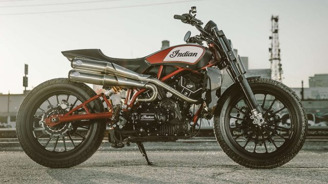 Indian FTR1200 to go into production. And you can win one 1