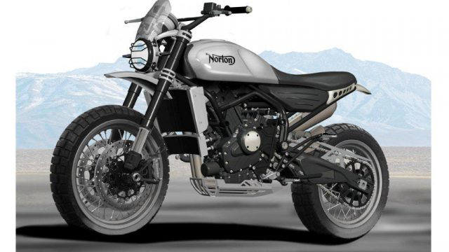 Norton Atlas 650 premiers dessins officiels 2