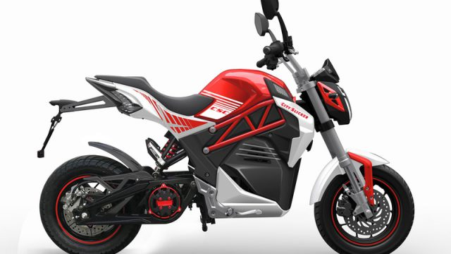 CSC City Slicker, the electric commuter motorcycle with an unbelievable price 8