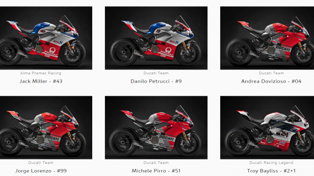 Get your Ducati Panigale V4 S from the Race of Champions 1
