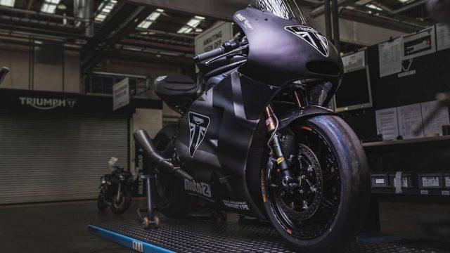 Here's the new Triumph 765 Moto2 Engine 1