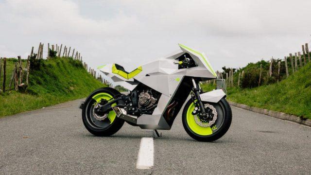 Yard Built Yamaha XSR700 Outrun is the perfect retro-SF custom bike 2