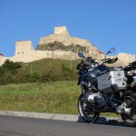 Riding behind a tall wind-screen - Transylvania's hidden villages 21