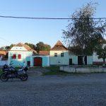 Riding behind a tall wind-screen - Transylvania's hidden villages 22