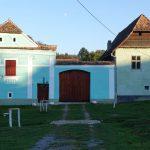 Riding behind a tall wind-screen - Transylvania's hidden villages 24