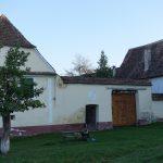 Riding behind a tall wind-screen - Transylvania's hidden villages 5