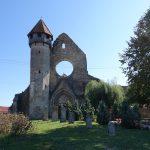 Riding behind a tall wind-screen - Transylvania's hidden villages 7