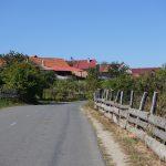 Riding behind a tall wind-screen - Transylvania's hidden villages 11