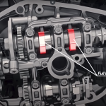 How the BMW R1250 variable cam engine works 3