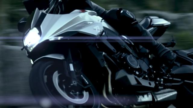 First images of the new Suzuki Katana 1