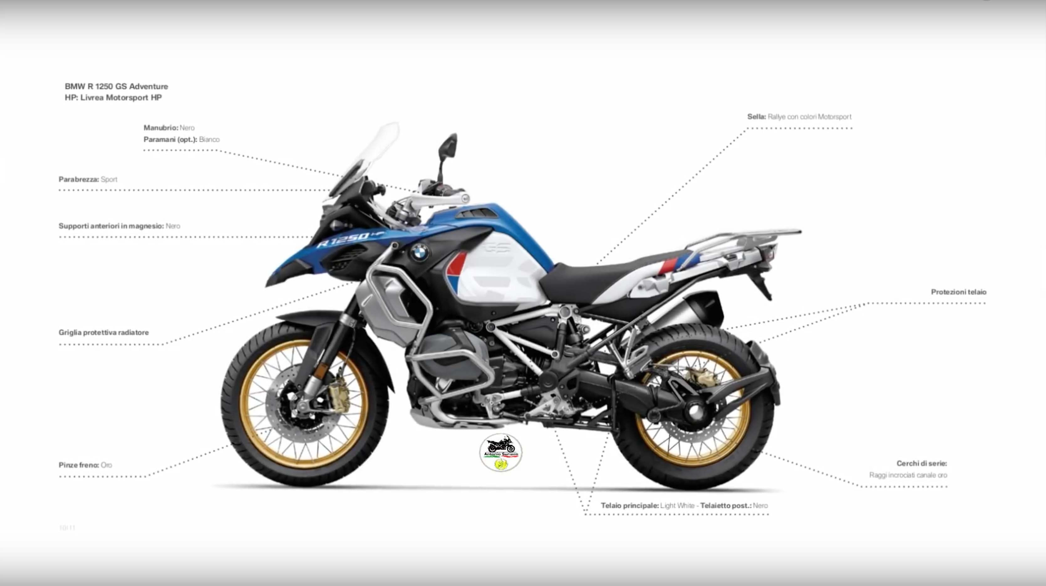 2019 BMW R1250GS Adventure leak 01